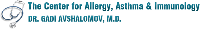 The Center for Allergy, Asthma & Immunology Dr. Gadi Avshalamov, M.D.
